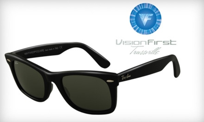 Visionfirst - Trussville: $72 for $145 Toward a Pair of Ray Ban Original Wayfarer Sunglasses at Visionfirst