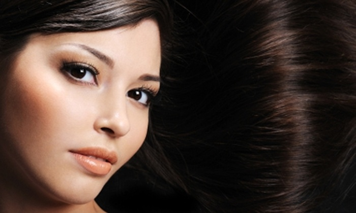 Salon 5th Ave. - Park West: $149 for a Haircut and Brazilian Blowout at Salon 5th Ave. (Up to $415 Value)