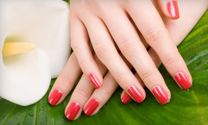 Alter Ego Hair and Nail Services - Cranston: One or Three Shellac Manicures and Paraffin Treatments at Alter Ego Hair and Nail Services in Cranston (Up to 53% Off)