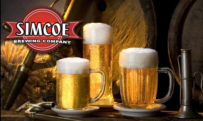 Simcoe Brewing Company - 400 East: $70 for Six Cases of Self-Brewed GrouBrew Beer from Simcoe Brewing Company ($140 Value)