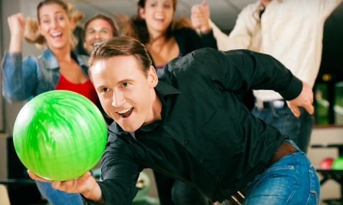 Circle Bowling Lanes - Broadmoor/Sherwood: $17 for One Hour of Bowling and Shoe Rental for Up to Four People at Circle Bowling Lanes (Up to $34 Value)