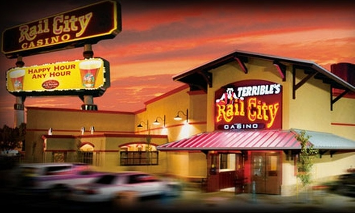 Terrible's Rail City Casino - Sparks: $15 for $30 Worth of Free-Play Credits at Terrible's Rail City Casino in Sparks