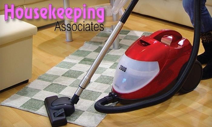 Housekeeping Associates - Lansing: $37 for Two  Man Hours of Housekeeping Services from Housekeeping Associates ($75 Value)