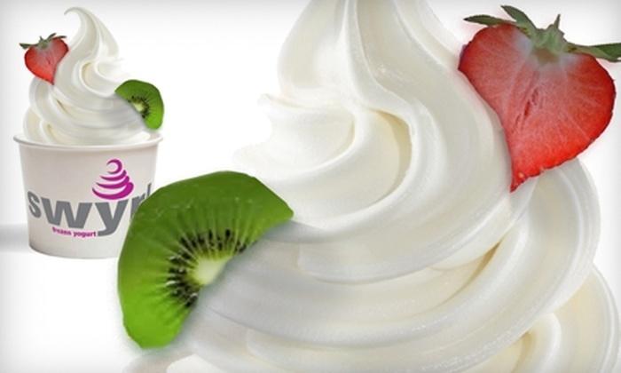 Swyrl Frozen Yogurt - Lynbrook: $4 for $8 Worth of Frozen Yogurt at Swyrl Frozen Yogurt in Lynbrook