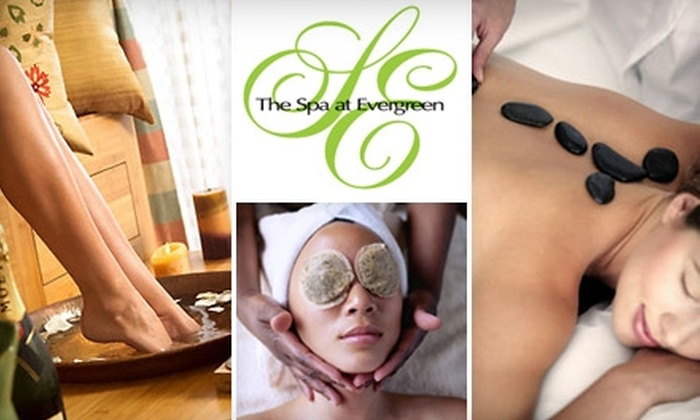 The Spa at Evergreen - Stone Mountain: Autumn Pedicures, Massages, and Facials at The Spa at Evergreen (Up to $100 Value). Choose from Three Options.