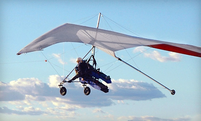 Sonora Wings - Casa Grande: $135 for a Tandem Hang-Gliding Adventure from Sonora Wings in Maricopa ($225 Value)