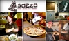 Sazza - Greenwood Village: $10 for $20 Worth of Eco-Conscious Cuisine and Drinks at Sazza Pizza and Salads