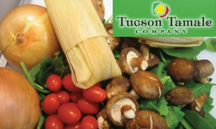 Tucson Tamale Company - Sam Hughes: $10 for $20 Worth of Freshly Prepared Tamales and Salsas at Tucson Tamale Company