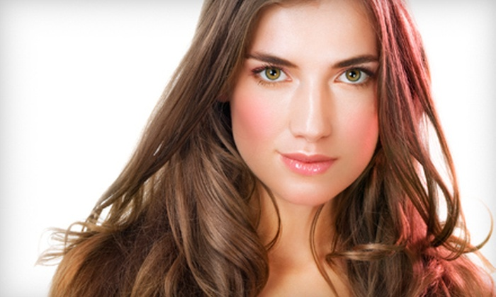 Amiche Capelli Salon of Style - Center City: $49 for a Women's Haircut with Partial Highlights or All-Over Glaze at Amiche Capelli Salon of Style ($99 Value)