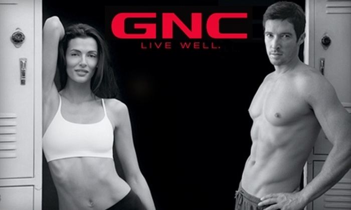 GNC - Multiple Locations: $19 for $40 Worth of Vitamins, Supplements, and Health Products at GNC. Four Locations Available.