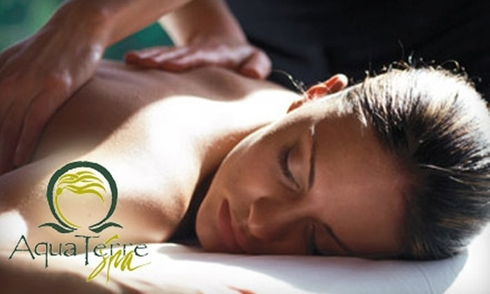 AquaTerre Spa - Downtown: $36 for a 30-Minute Massage at AquaTerre Spa at Parkside Victoria Resort and Spa ($72.80 Value)