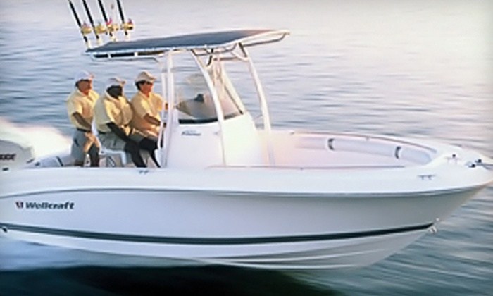 South River Boat Rentals - Edgewater: $199 for a Four-Hour Powerboat Rental Including Tube or Skis from South River Boat Rentals in Edgewater ($440 Value)