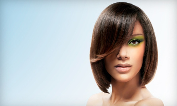 Paul Mitchell the School Colorado Springs - Downtown Colorado Springs: Cut, Cut and Keratin Treatment, or Cut and Color Treatment at Paul Mitchell the School Colorado Springs (Up to 55% Off)