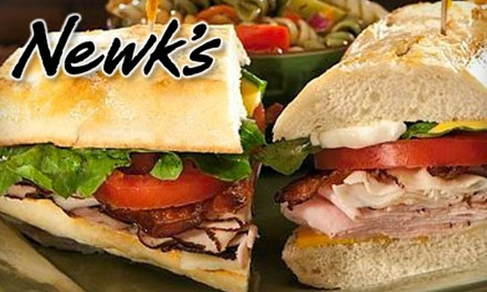 Newk's - Great Hills: $10 for $20 Worth of Fresh-Tossed Salads, Sandwiches, Pizza, and Cafe Fare at Newk's