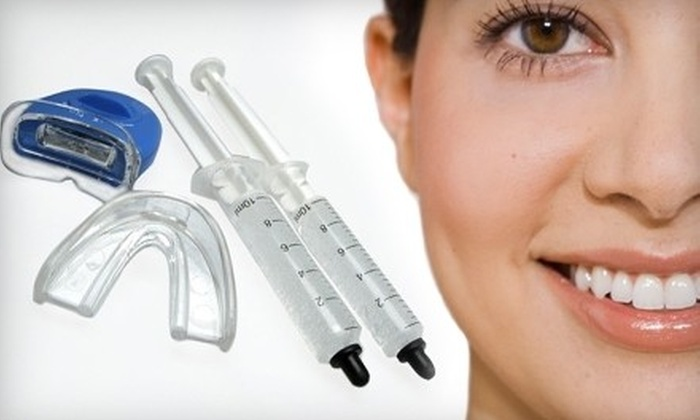 Elite Brights Teeth Whitening: $39 for an At-Home Teeth-Whitening Kit from Elite Brights ($199 Value)