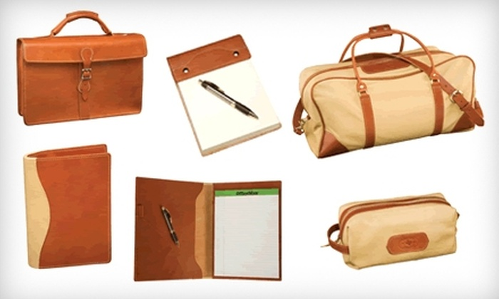 South Texas Saddlery - Uptown Broadway: $50 for $100 Worth of Customizable Leather Bags, Cases, and More at South Texas Saddlery