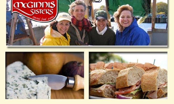 McGinnis Sisters - Multiple Locations: $15 for $35 Worth of Specialty Groceries at McGinnis Sisters