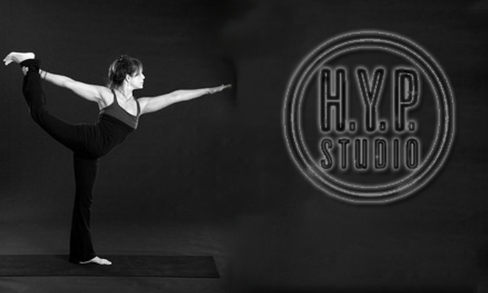 H.Y.P. Studios - Multiple Locations: $45 for Three Pilates Equipment Drop-In Classes or $30 for Five Hot Yoga Classes at H.Y.P. Studios (Up to a $105 Value)
