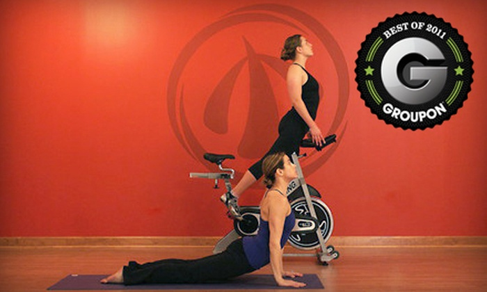 SyncStudio - Multiple Locations: Cycling, Strength-Training, or Yoga Workshops or Complete Fitness Package at SyncStudio in Durham (Up to 82% Off)