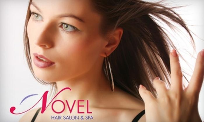 Novel Hair Salon & Spa - South Central Omaha: $15 for $30 Worth of Hair, Nail, and Waxing Services at Novel Hair Salon & Spa