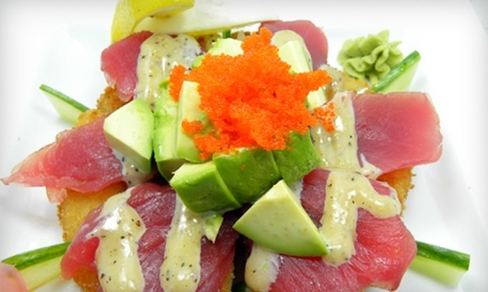 Crazy Sushi - Erin Mills: $15 for $30 Worth of Japanese Fare and Drinks at Crazy Sushi in Oakville