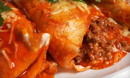 Mexican Dinner for 2 - El Chris in San Antonio