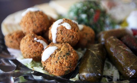 $15 Groupon - Heart of Jerusalem Cafe in Manitou Springs