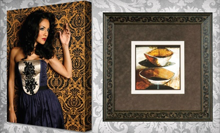 $100 Groupon for Canvas Printing or Custom Framing - Museum Quality Framing in Camarillo