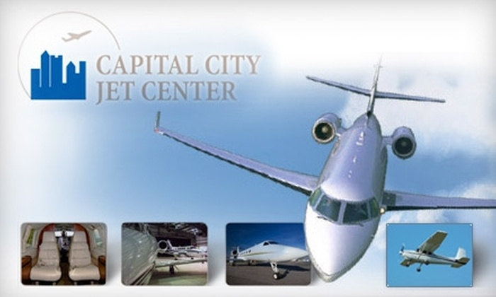 Capital City Jet Center - Columbus: $73 for One Hour of Premium Flight Instruction at Capital City Jet Center ($145.73 Value)
