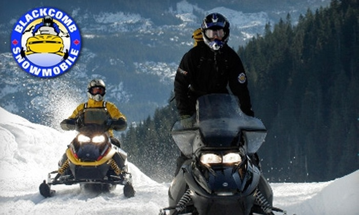 Blackcomb Snowmobile - Whistler: $133 for a Tandem Snowmobile Tour of Whistler's Backcountry with Blackcomb Snowmobile ($267 Value)
