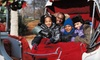 Elegant Carriages - Covington: $35 for a Holiday Carriage Outing and Photo with Santa for Six from Elegant Carriages in Covington (Up to $75 Value)