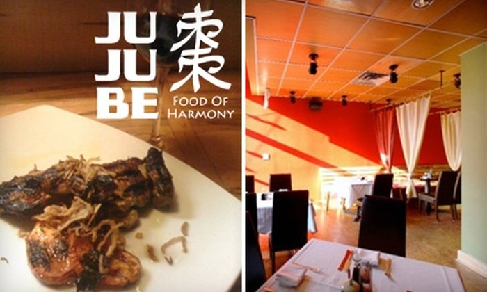 Jujube - Gimghoul: $25 for $50 Worth of Asian Fusion and Non-Alcoholic Drinks at Jujube