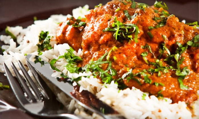 Taste of India - Providence: $15 for $30 Worth of Indian Fare and Drinks at Taste of India