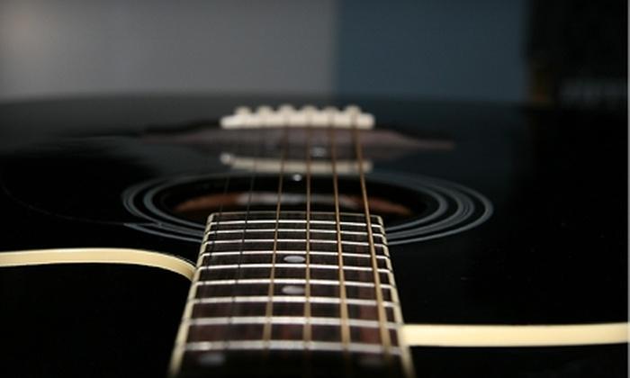 Dustin Adams Music Studio - Amarillo: $20 for a One-Hour Drum, Piano, or Guitar Lesson at Dustin Adams Music Studio