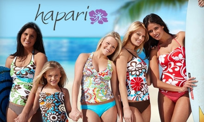 da660400ad8aa Hapari **DNR**: $20 for $50 Worth of Modest Swimwear from Hapari