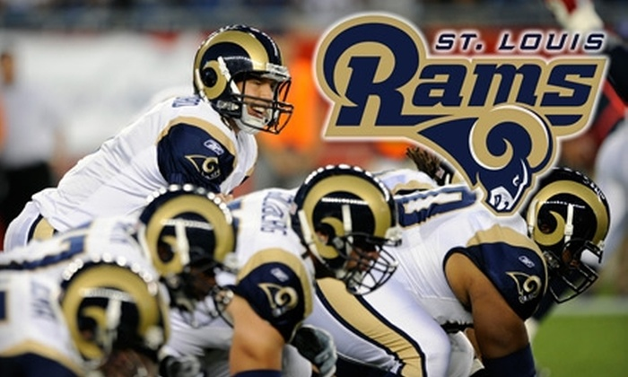 St. Louis Rams - Downtown St. Louis: $26 for One Ticket to a St. Louis Rams Game ($52 Value). Two Options Available.