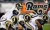 Los Angeles Rams - Downtown St. Louis: $26 for One Ticket to a St. Louis Rams Game ($52 Value). Two Options Available.