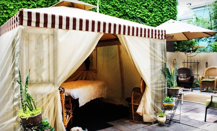 Everything Beauty: Outdoor Deep-Tissue Cabana Massage - Everything Beauty Salon and Spa in Buffalo
