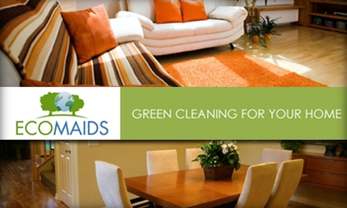 EcoMaids - Orlando: $49 for an Eco-Friendly, Multi-Room House-Cleaning Service from EcoMaids