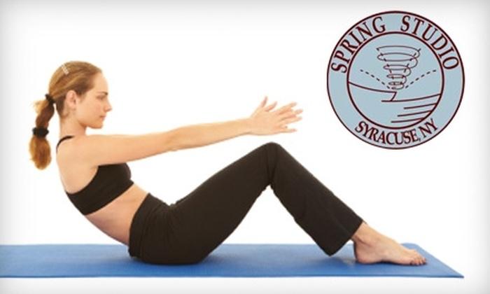 Spring Studio - Onondaga: $36 for Six Pilates Classes at Spring Studio ($72 Value)