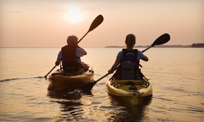 Fresh Spirit Adventures - Melton Nelson Boat Ramp : Two-Hour Guided Kayak Tour for One or Two from Fresh Spirit Adventures (Up to 68% Off)