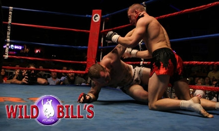 Wild Bill's Fight Night - Suwanee-Duluth: $12 for One General-Admission Standing-Room Ticket to Wild Bill's Fight Night on Saturday, September 11, at 7:30 p.m. ($25 Value)