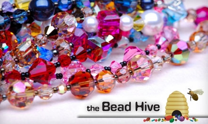 The Bead Hive - Guilford: $10 for $20 Worth of Glass Beads plus 10% Off of Any Class at The Bead Hive