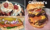 Carnival's - Bay Creek: $7 for $14 Worth of Burgers, Fries, Soft-Serve, and More at Carnival's