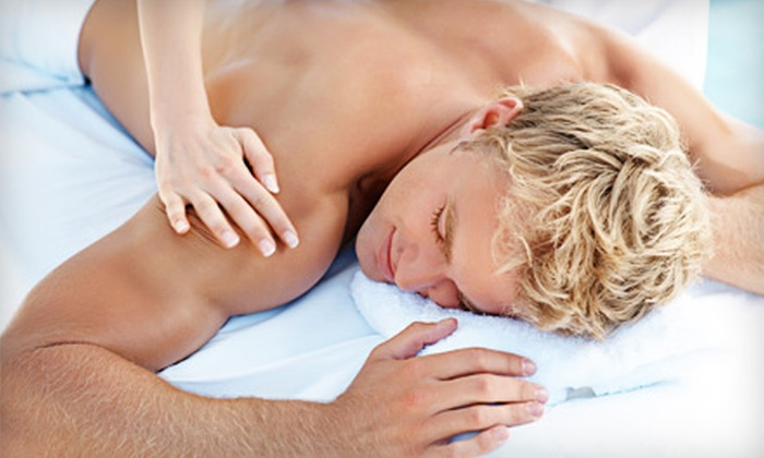 Why Not Men's Spa - West Village: 60-Minute Chi Massage or a 140-Minute Massage-and-Facial Package at Why Not Men's Spa (Up to 63% Off)
