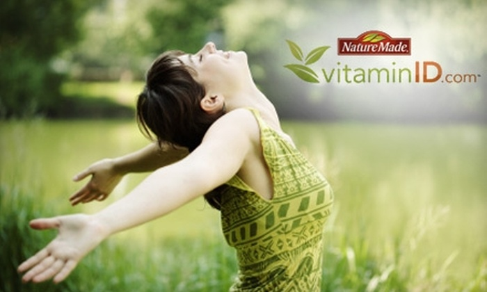 VitaminID: $29 for $100 Worth of Customized Vitamin Packs from vitaminID.com