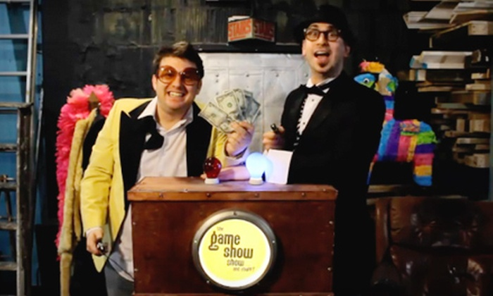 """""""The Game Show Show … and Stuff!"""" - Lakeview: Two Tickets to """"The Game Show Show … and Stuff!"""" at The Mercury Theater on October 21 or October 22 (Half Off)"""