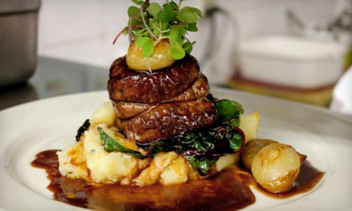 Luci Restaurant - Stonegate - Queensway: Five-Course Tasting Menu for Two or $30 for $60 Worth of Gourmet Italian Fare and Drinks at Luci Restaurant