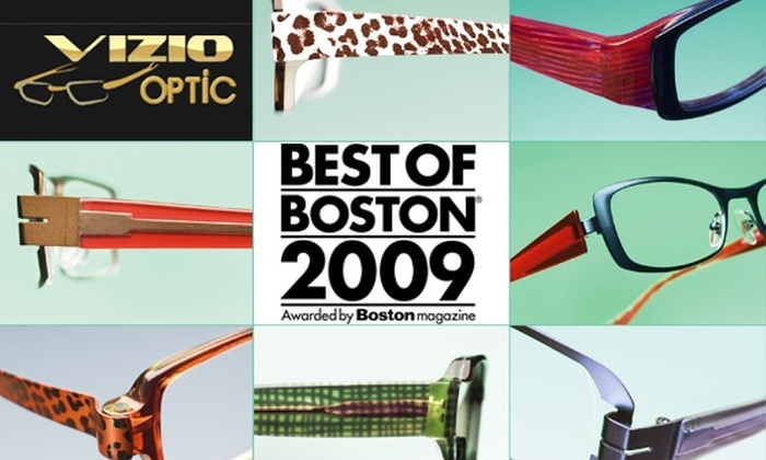 Vizio Optic - Brookline Village: See Clearly with $50 for $150 Worth of Prescription Eyewear at Vizio Optic