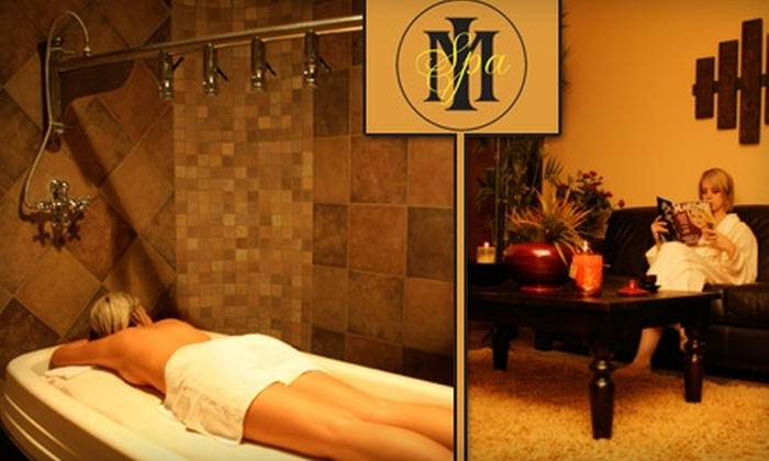 Maximum Image Salon & Day Spa LA - Pedley: $39 for an Aromatherapy and Reflexology Massage from Maximum Image Salon and Day Spa